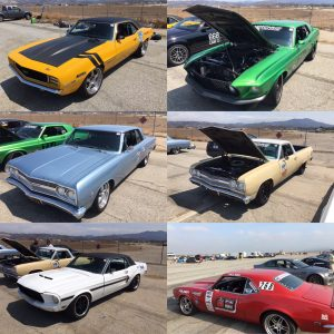 CAMT muscle cars Camaro Mustang Chevelle El Camino
