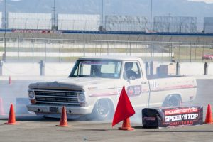 Sean Fogli F100 Powerstop brakes speed stop challenge
