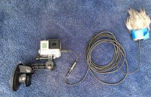 GoPro Hero Olympus ME-51S external microphone - GoPro External Mic