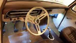 Sean's F100 interior - old meets new