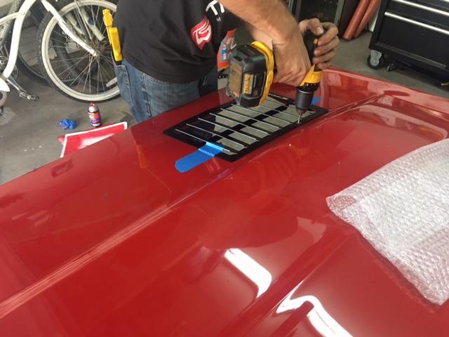 Trackspec Motorsports Hood Louvers Install - 1967-1969
