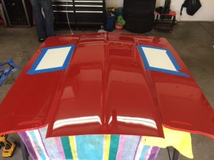 trackspec motorsports hood louver patern first gen camaro