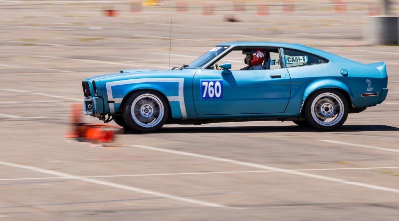 Alcino Azevedo Mustang II CAM-T Champion - action shot