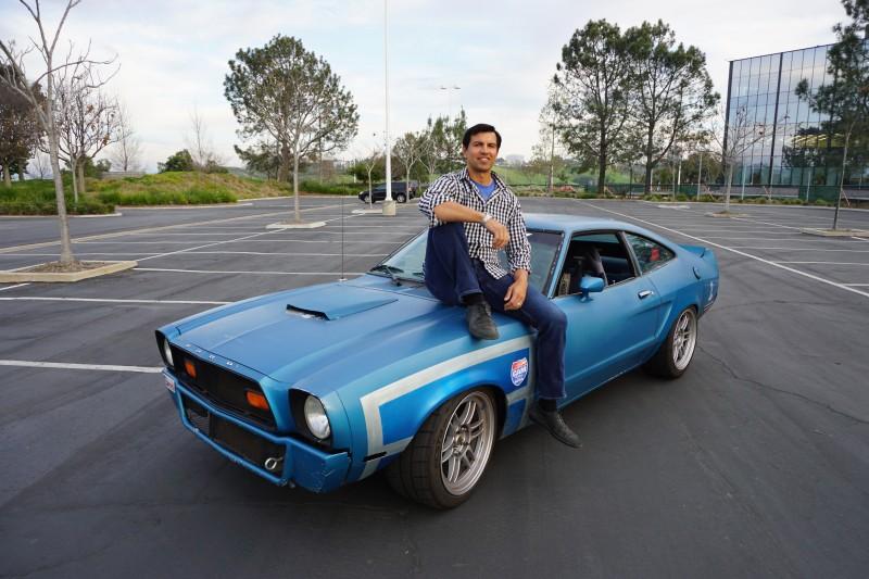 Alcino Azevedo Mustang II CAM-T Champion - come say hello
