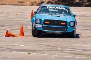 Alcino Azevedo Mustang II CAM-T Champion - on course