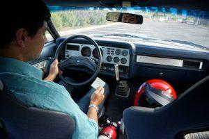 Alcino Azevedo Mustang II CAM-T Champion - post run contemplation