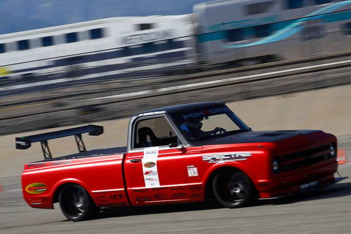 Brandy Phillips C10R truck class winner Sunday NMCA Hotchkis Autocross April 2017