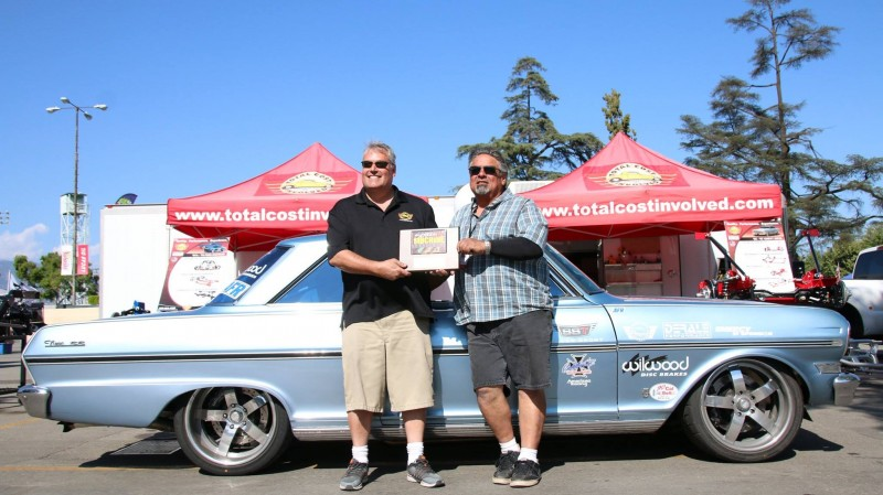Evan Dalley Don Caldwell 1963 Nova TCI Engineering Street Machine Challenge winner Street Machine and Muscle Car Nationals autocross 2017