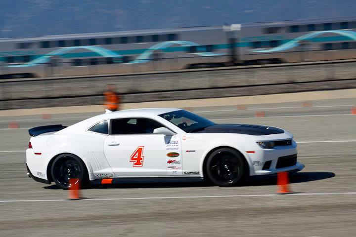 Greg Nelson 2015 Camaro Z28 Modern Muscle class winner Saturday NMCA Hotchkis Autocross April 2017