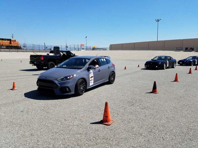 Sheely Ford Focus compact winner NMCA Hotchkis Autocross April 2017