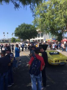 spectators Street Machine and Muscle Car Nationals Autocross 2017