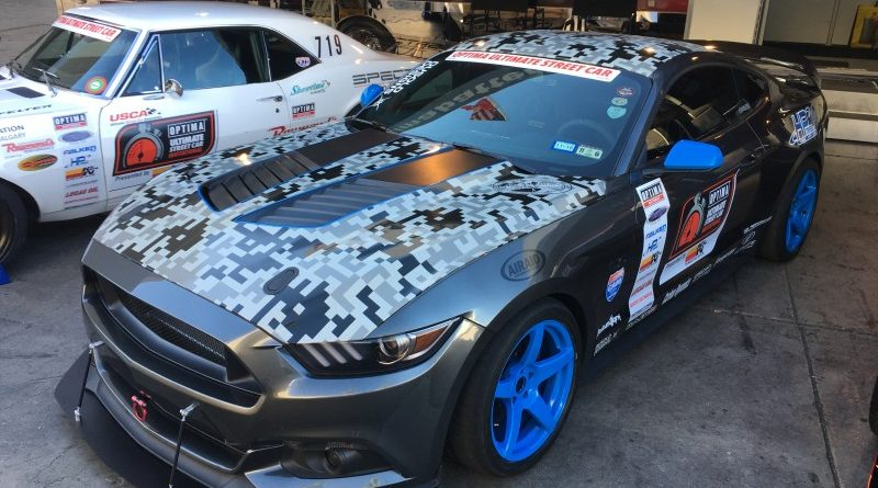 Aaron Sockwell 2015 Ford Mustang OUSCI Optima Alley SEMA