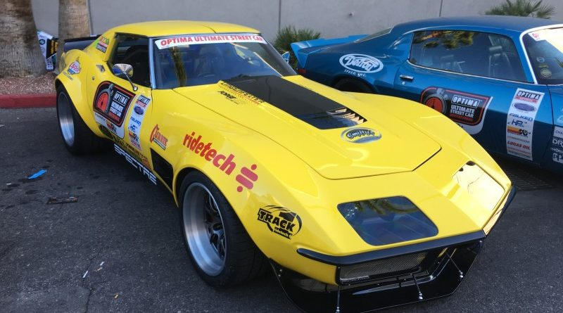 Chris Smith 1972 Corvette OUSCI Optima Alley SEMA