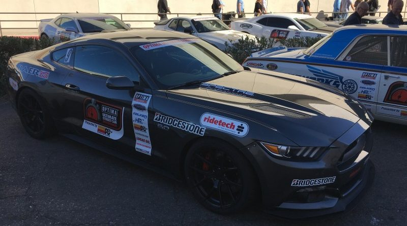 Jeremiah Stotler 2015 Ford Mustang GT OUSCI Optima Alley SEMA