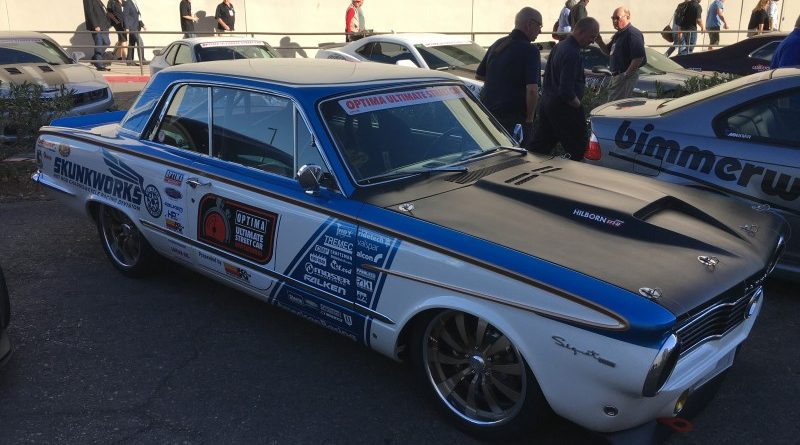 Kevin Tully 1964 Plymouth Valiant Signet 200 OUSCI Optima Alley SEMA