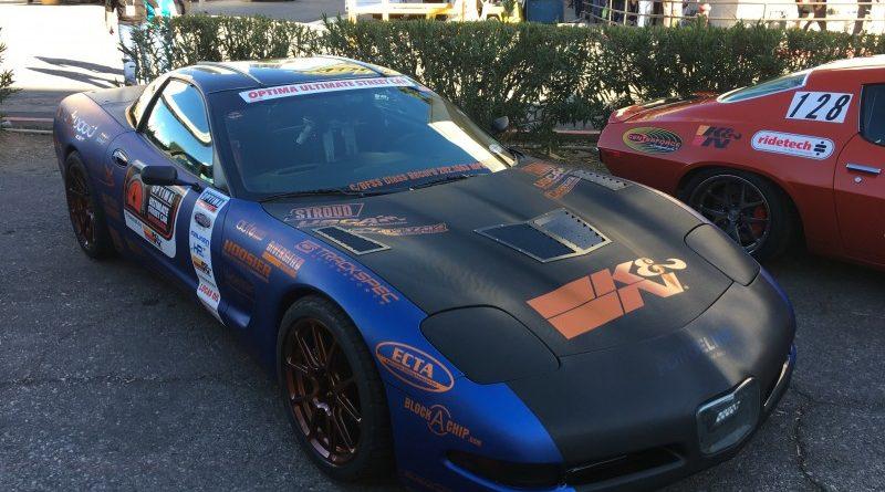 Rick Hoback 1999 Chevrolet Corvette TT OUSCI Optima Alley SEMA