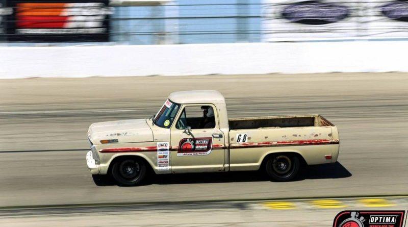 Sean's F100 on track