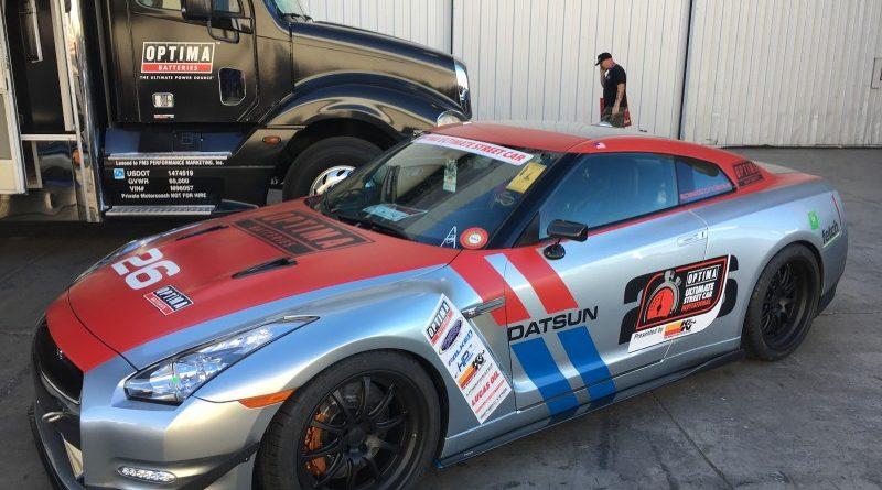 Steve Kepler 2013 Nissan GTR OUSCI Optima Alley SEMA