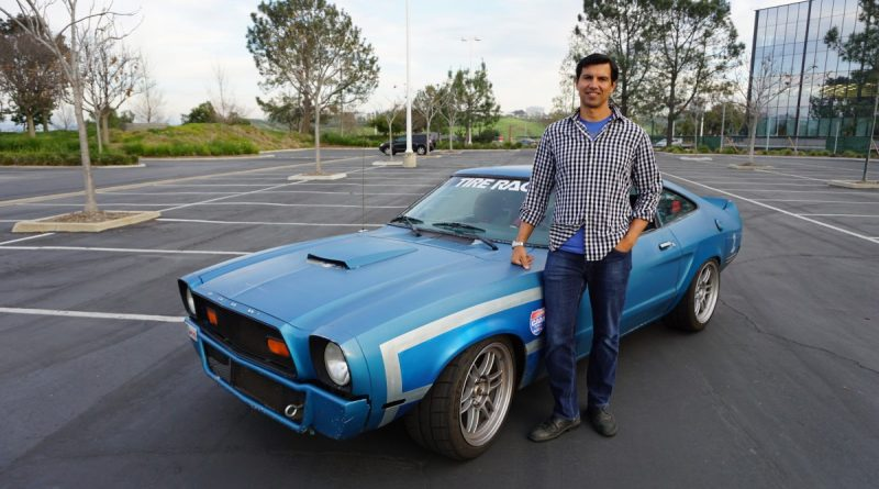 Alcino Azevedo and his Mustang II CAM-T Champion