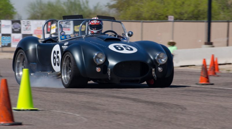 Kevin Daigle 65 Shelby Cobra Goodguys Autocross spring nationals