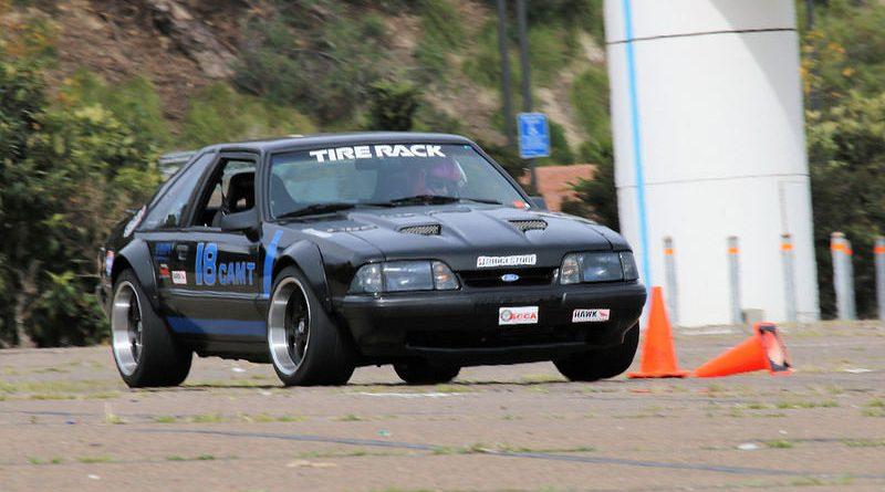 Oliver Taylor 91 Mustang CAM Challenge