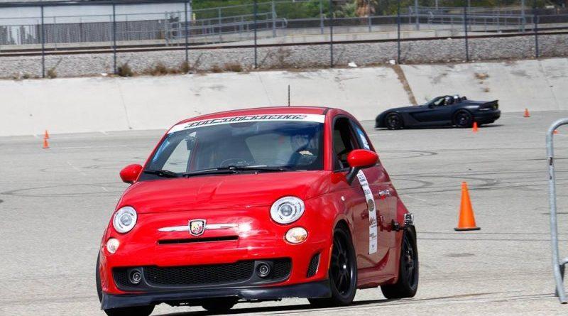 Red Fiat NMCA Hothckis Autocross