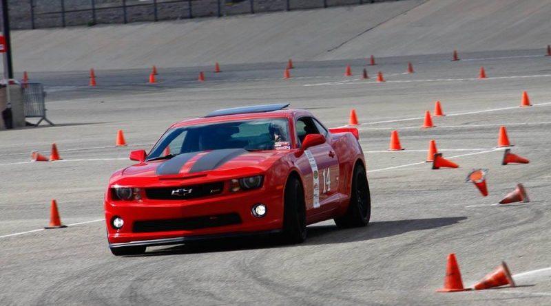 Rick DeHart Camaro NMCA Hothckis Autocross