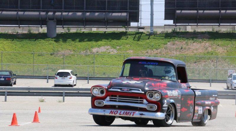 Wes Drelleshak 1959 Apache NMCA Hothckis Autocross