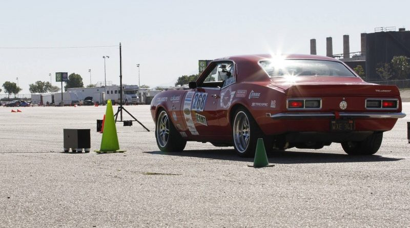 Chad Ryker Camaro SCCA ProSolo Autocross Fontana 2017 Staged