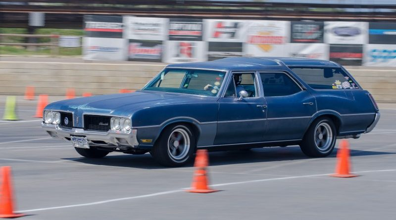 Wagon Del Mar Goodguys Autocross 2017