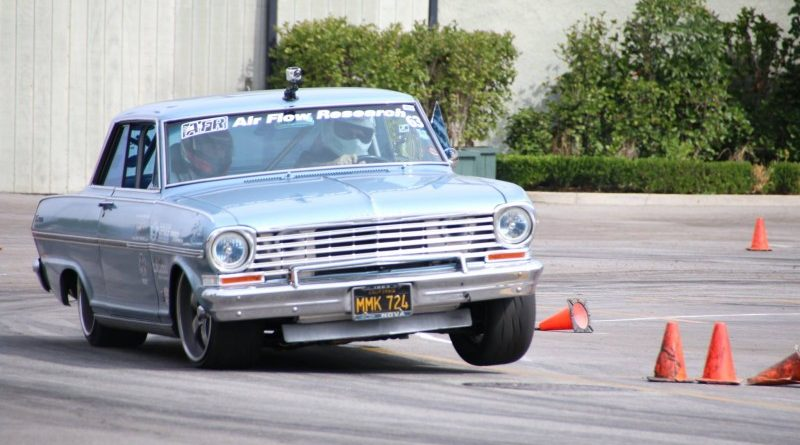 Evan Dalley 1963 Nova TCI Engineering Street Machine Challenge winner Street Machine and Muscle Car Nationals autocross 2017