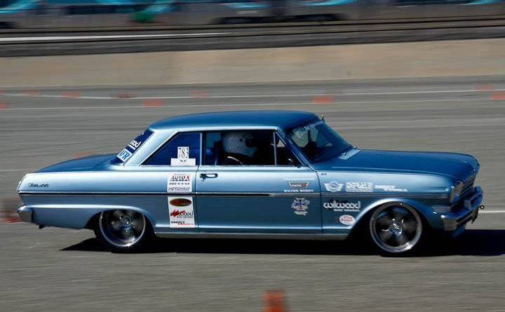 Evan Dalley Nova TCI Engineering classic muscle NMCA Hotchkis Autocross April 2017