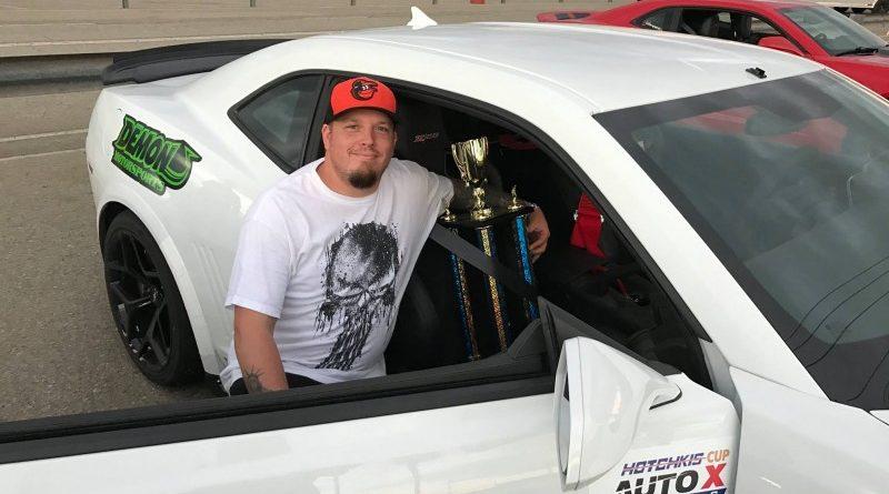 Greg Nelson 2015 Camaro Z28 Hotchkis Cup winner NMCA Hotchkis Autocross April 2017