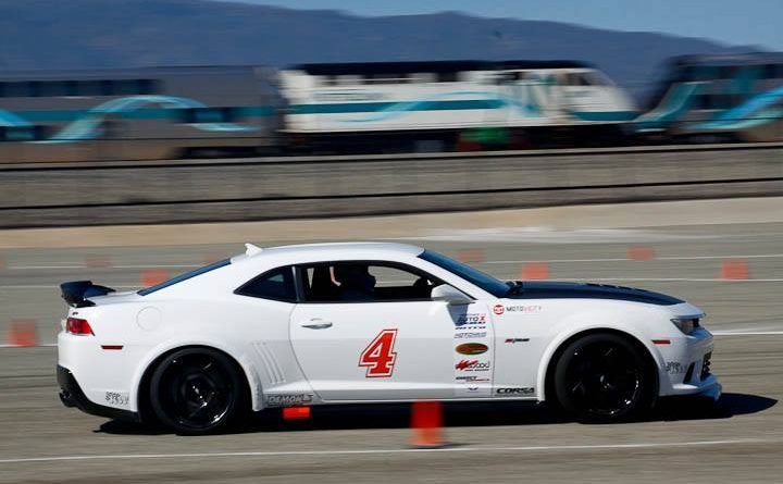 Greg Nelson 2015 Camaro Z28 Modern Muscle class winner Sunday NMCA Hotchkis Autocross April 2017
