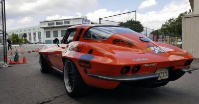 Greg Thurmond 1965 Corvette scar classic muscle sports car winner staged Street Machine and Muscle Car Nationals Autocross 2017