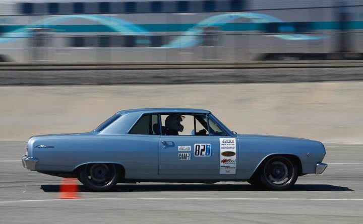 Kevin Reidy Chevelle classic muscle Sunday NMCA Hotchkis Autocross April 2017