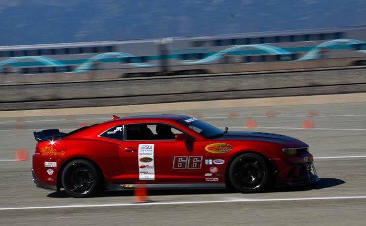 Kurt Robinson 2015 Camaro 3rd place Modern Muscle Saturday NMCA Hotchkis Autocross April 2017
