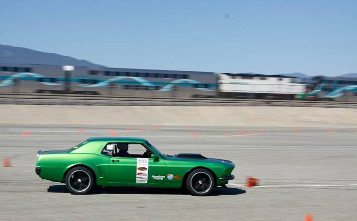 Richard Trujillo 1969 Mustang 3rd place classic muscle Saturday NMCA Hotchkis Autocross April 2017
