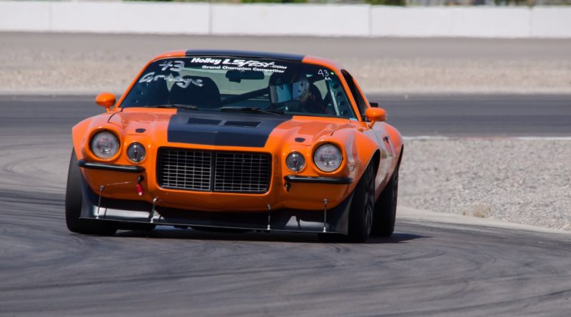 Brian Hobaugh 1973 Camaro LSFest West 2017 Road Course