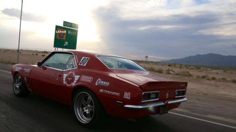 Chad Ryker 1968 Camaro LSFest West 2017 Poker Run