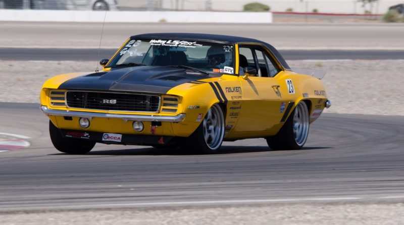 Efrain Diaz 1969 Camaro LSFest West 2017 Road Course