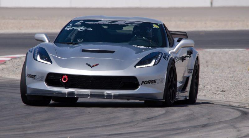 Jordan Priestley 2017 Corvette LSFest West Road Course