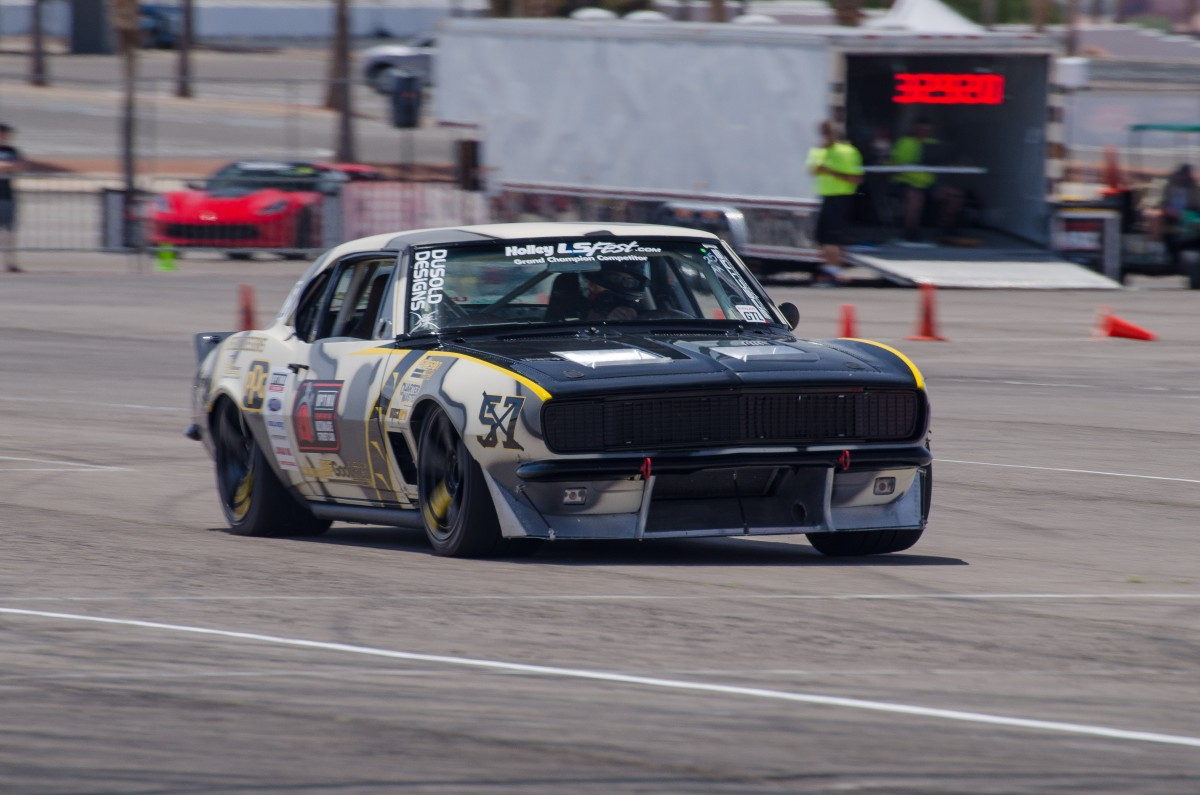 Mike Dusold 1967 Camaro LSFest West 2017 2