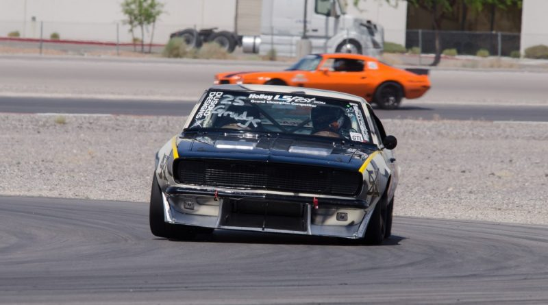 Mike Dusold 1967 Camaro LSFest West 2017 Road Course