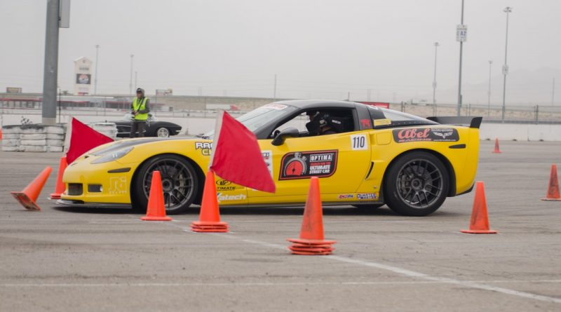 Rich Willhoff 2006 Corvette LSFest West 2017 3S cone punt