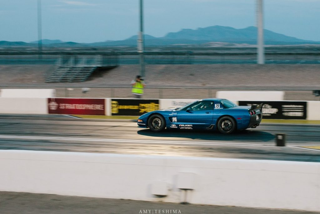 Jake Rozelle Corvette LSFest West Drag Race