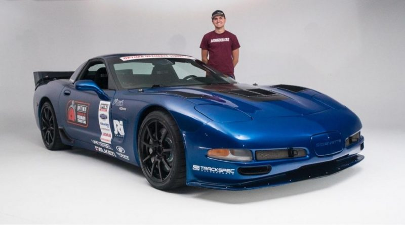 Jake Rozelle and his C5Z Corvette USCA Studio