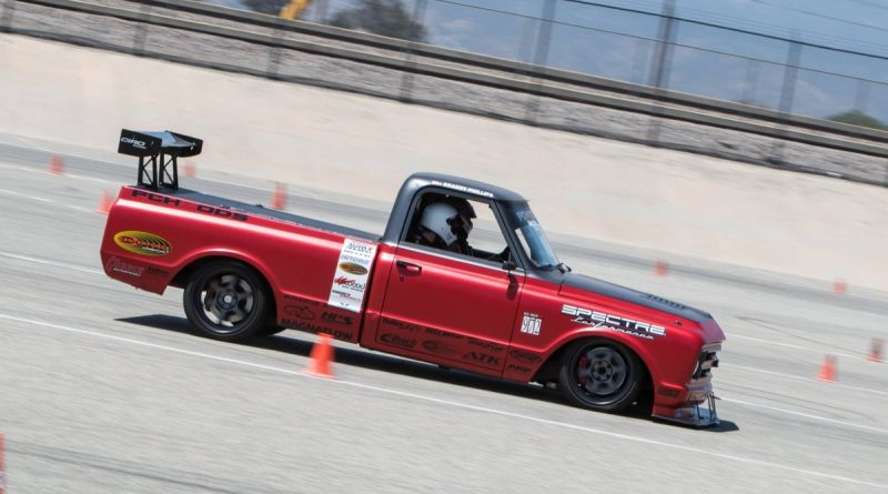 Brandy Phillips PCHRods 1972 C10R NMCA West Hothckis Autocross June 2017 3