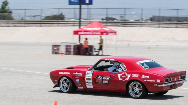 Chad Ryker 1968 Camaro NMCA West Hothckis Autocross June 2017 2