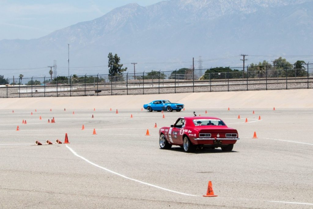 Chad Ryker Michael Cuthbertson 1968 Camaros NMCA West Hothckis Autocross June 2017